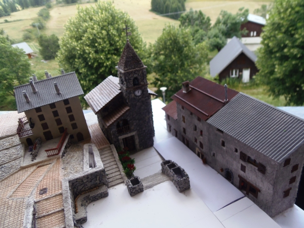 La place de l' église